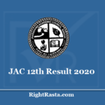 JAC 12th Result 2020 - Download Jharkhand Board Intermediate Exam Results