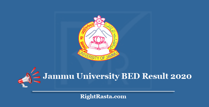 Jammu University BED Result