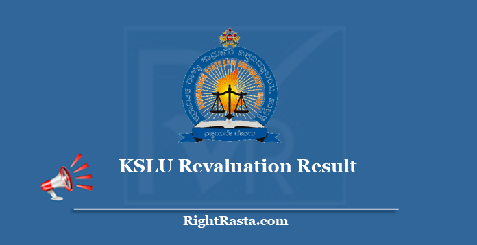 KSLU Revaluation Result