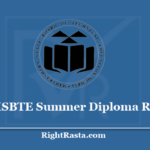 MSBTE Summer Diploma Result 2020 - Download AICTE and Non-AICTE Results @ www.msbte.org.in