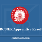 RRC NER Apprentice Result 2020 - Download Railway Recruitment Cell Gorakhpur Results
