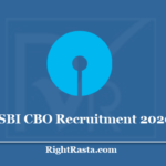 SBI CBO Recruitment 2020 - Apply Online For State Bank Circle Based Officer Vacancy