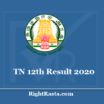 tn.results.nic.in 12th Result 2020 - Download TN Board HSC +2 Exam Results Update