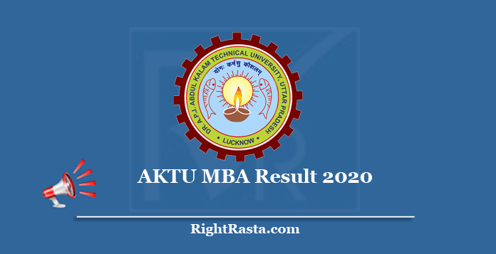 AKTU MBA Result