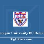 Berhampur University BU Result 2020 (Out) - Download BAMU Exam Marks