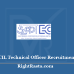 ECIL Technical Officer Recruitment 2020 (Out) Apply Online Form for TO Vacancy