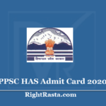 HPPSC HAS Admit Card 2020 (Soon) Download HPAS Exam Hall Ticket Update