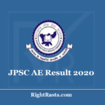 JPSC AE Result 2020 (Out) Jharkhand Assistant Engineer (Civil & Mechanical) PT Results