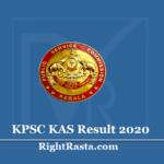 KPSC KAS Result 2020 (Out) Download Kerala PSC Administrative Service Cut Off Merit List