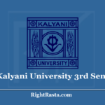 Kalyani University 3rd Sem Result 2020 (Soon) KU Semester 3 Exam Results @ www.klyuniv.ac.in