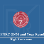 MPNRC GNM 2nd Year Result 2020 (Out) General Nursing Midwifery Second Year Results