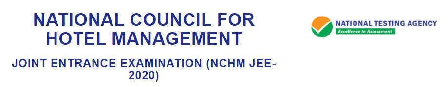 NCHMJEE 2020 Hall Ticket