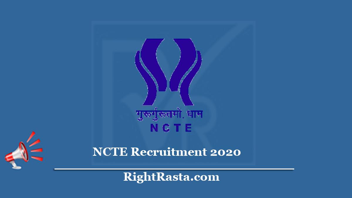 NCTE Recruitment