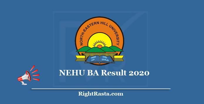 NEHU BA Result