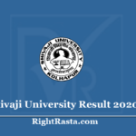 Shivaji University Result 2020 (Out) Download UNISHIVAJI Exam Results
