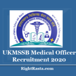 UKMSSB Medical Officer Recruitment 2020 (Out) Apply Online for 763 MO Vacancy