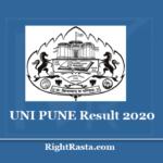 UNI PUNE Result 2020 (Out) Download Savitribai Phule Pune University Exam Marks