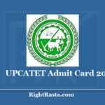 UPCATET Admit Card 2020 (Out) Download CATET Entrance Exam Hall Ticket