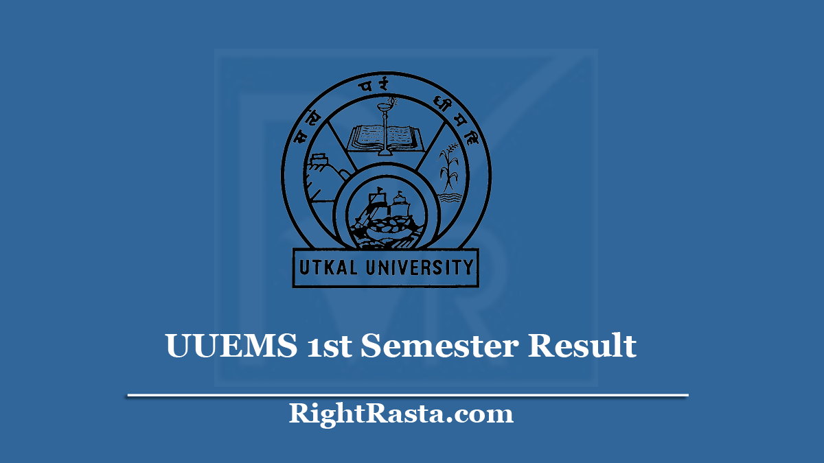UUEMS 1st Semester Result