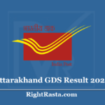 Uttarakhand GDS Result 2020 (Out) - UK Post Office Circle Gramin Dak Sevak Results