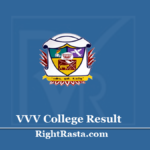 VVV College Result 2020 - Download V.V. Vanniaperumal College Exam Results @ www.vvvcollege.org