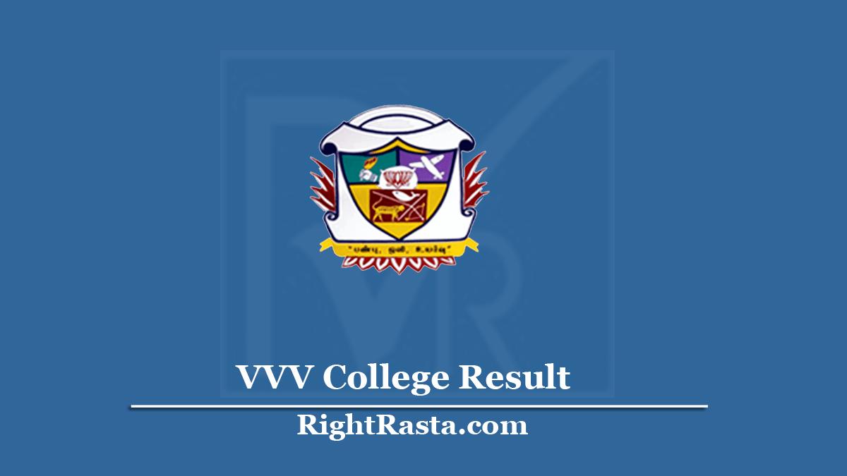 VVV College Result