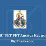 BHU UET PET Answer Key 2020 (Out) Download Banaras Hindu University Exam Key