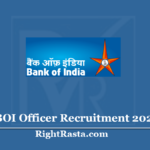 BOI Officer Recruitment 2020 - Apply Online for Bank Of India Vacancy
