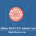 Bihar BED CET Admit Card 2020 - Download LNMU B.Ed. Entrance Exam Hall Ticket