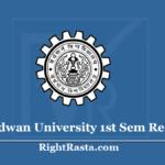 Burdwan University 1st Sem Result 2019 (Out) Download BU BA BSC BCOM Results