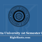 Calcutta University 1st Semester Result 2020 (Out) - CU BA BSC BCOM Sem 1 Results