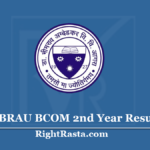 DBRAU BCOM 2nd Year Result 2020 (Out) Dr Bhimrao Ambedkar University B.Com Results