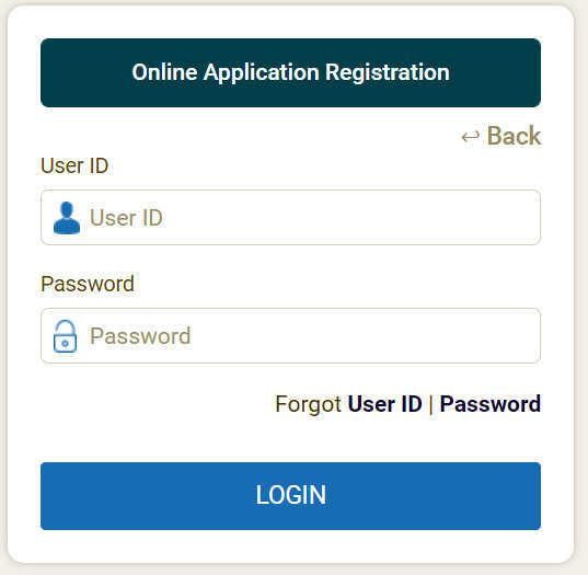 ICCR Admit Card 2020 Login