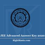 JEE Advanced Answer Key 2020 (Out)- Download Adv Exam Key PDF