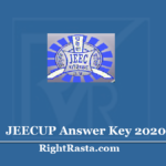 JEECUP Answer Key 2020 (Out) - Download UP Polytechnic Exam Key PDF