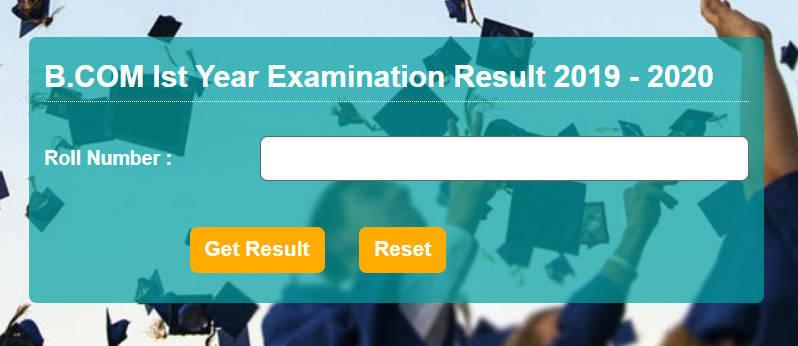 JNV BCOM First Year Result