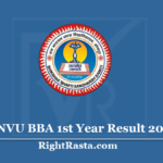 JNVU BBA 1st Year Result 2020 (Out) - Download Jai Narain Vyas University B.B.A. Results