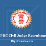 MPHC Civil Judge Recruitment 2020 (Link Available)- Apply MP High Court CJ Vacancy