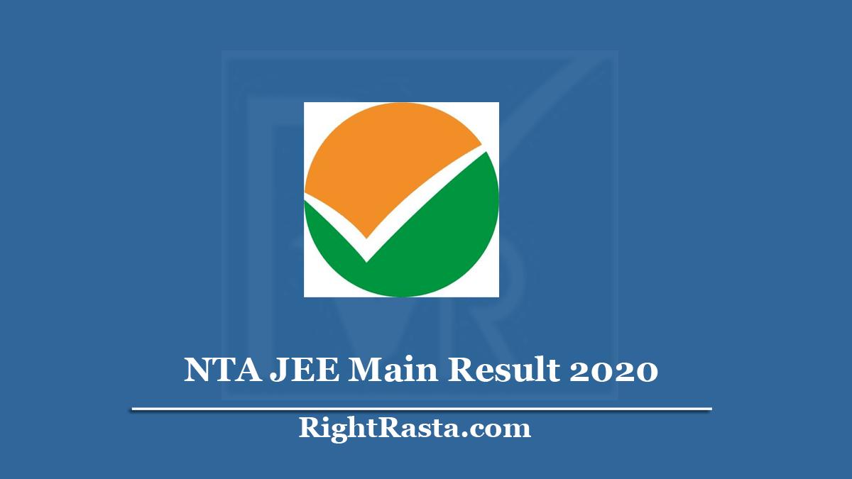 NTA JEE Main Result