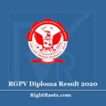 RGPV Diploma Result 2020 (Out) | Rajiv Gandhi Proudyogiki Vishwavidyalaya DPL Results