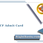 RPSC ACF Admit Card 2021 (Out) | Download Rajasthan FRO Hall Ticket