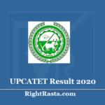 UPCATET Result 2020 (Out) - Download UP CATET Admission Test Marks