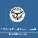 UPPCS Final Result 2018 (Out) - Download UP PCS Interview Merit List