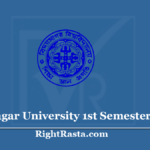 Vidyasagar University 1st Semester Result 2019 (Out) VU BA BSC BCOM Results