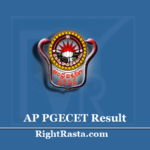 AP PGECET Result 2020 (Out) | Download Andhra University PG Entrance Test Results