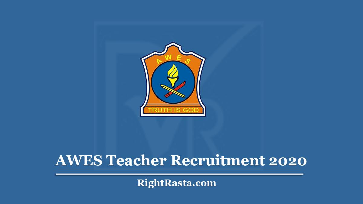 AWES Teacher Recruitment