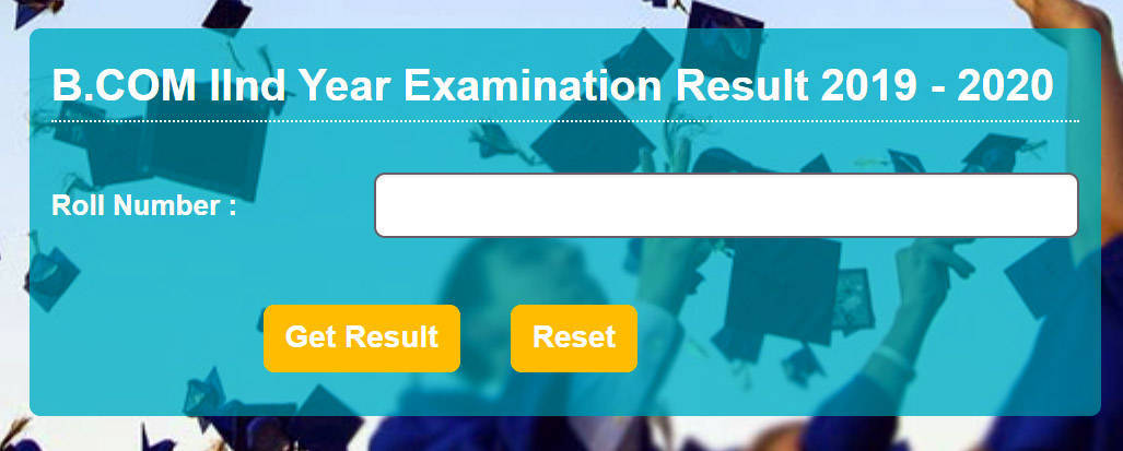 BCOM 2nd Year Result 2020