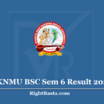 BKNMU BSC Sem 6 Result 2020 (Out) Download B.Sc. 6th Semester Results