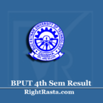 BPUT 4th Sem Result 2019 (Out) | B.Tech B.Arch B.Pharma MCA Even Semester Results