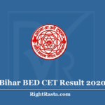 Bihar BED CET Result 2020 (Out) | Download LNMU B.Ed. Entrance Exam Results
